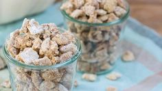 These Pumpkin Pie Muddy Buddies are spiced up just for fall.