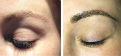 Eyebrow Embroidery by Christopher Drummond.  www.miamibrows.com  Also known as 3D eyebrows, hairstrokes, featherstrokes, eyebrow enhancement