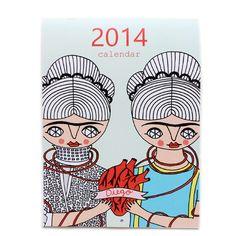 Artsy 2014 Calendar