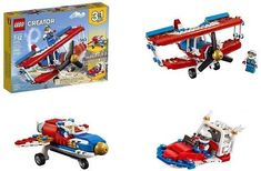 Lego Creator 3 In 1 Daredevil Stunt Plane 200 Pieces Building Kit Kids Toy Gift Lego Creator, The Creator, Stunt Plane, Daredevil, Stunts, Toys, Building, Gift, Activity Toys