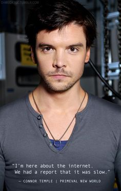 "Andrew Lee Potts, Primeval New World (for the Connor Temple Challenge ""Favorite Smolder"")"