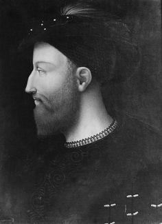 Portrait of Cesare Borgia (1475-1507)  Italian  Date: around 1500?  Subject heading: Painting   class: Panel Painting