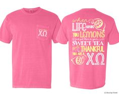 ChiO Chi Omega Sweet Southern Frocket Sorority by BoutiqueGreek