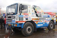 Jan de Rooy, Yvo Geusens, Hugo Duisters - DAF Turbo Twin 95 X1 - 1998 - Paris-Dakar