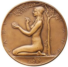 obverse Bronze Medal of American Numismatic Society