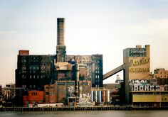 Domino Sugar Factory - Brooklyn USA. Abandoned places