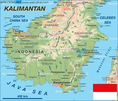 Map of indonesia my indonesia living in the ring of fire map of kalimantan indonesia gumiabroncs Images
