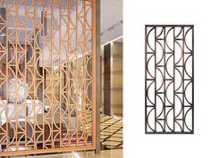 Gallery - Design of laser cut screens Decorative Metal Screen, Decorative Wall Panels, Laser Cut Screens, Laser Cut Panels, Arabesque, Jaali Design, Cute Screen Savers, Rustic Stairs, Modern Bookshelf