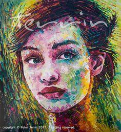 DEAR VINCENT Acrylic on Canvas 205cm x 185cm