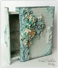 Maria Lina's Creative Designs : Altered Art/Mixed Media