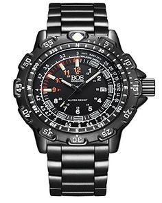 BOS Digital Menss Watch Military Army Luminous Water Resistant Sports Watches With Stainless Steel Band * See this great product.Note:It is affiliate link to Amazon.