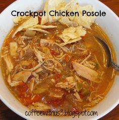 Crockpot Chicken Posole Freezer Meal on MyRecipeMagic.com