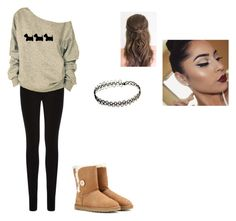 """""""Cute natural outfit"""" by lc-cordeiro on Polyvore"""
