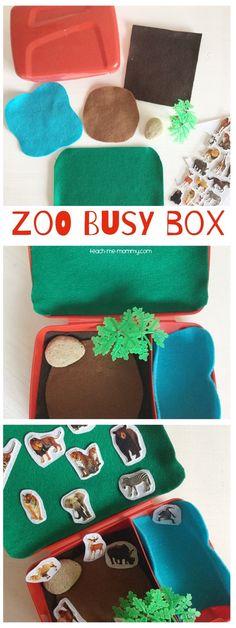 Zoo Busy Box