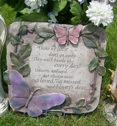 Memory Garden Ideas find this pin and more on memory garden ideas Ajays Emporium Butterfly Memorial Garden Stepping Stone 2599 Httpwww