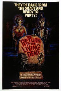 The Return of the Living Dead (1985)  Its a must see classic, funny and a not so horrific horror film.