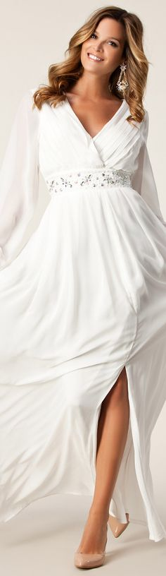NLY EVE / ROSIE DRESS #white #long #dress