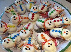 Preschool Crafts for Kids*: Nutter Butter Snowman Christmas Cookies Recipe