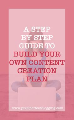 Are you fumbling through your blog with no plan? Click here to see our step by step guide to build your own content creation plan so you can move forward with intention and strategy. #blogging #content #contentstrategy #contentmarketing #bloggingtips via