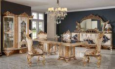 Luxury Dining Room, Luxury Sofa, Dining Set, Fair Grounds, Elegant, Decor, Dinning Set, Classy, Decoration