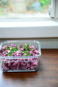 ビーツのポテトサラダ by Miraさん | レシピブログ - 料理ブログの ...
