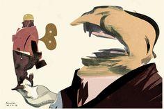 ilustracion para Telam