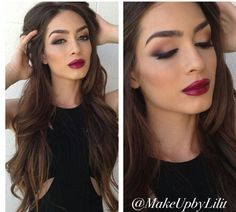 I love the lip stick and natural eyeshadow