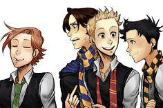SPN - Harry Potter AU by Konoira on DeviantArt