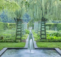 Landscape design by Dan Kiley, Wilmington, DE.