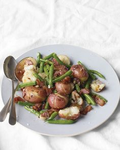 Warm Green Bean and Potato Salad Recipe | Cooking | How To | Martha Stewart Recipes