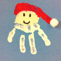 Santa hands.......  Adorable!