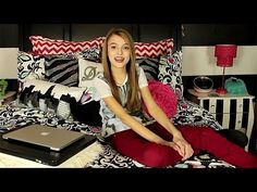 Kaelyn's New Room Tour 2014 So want like everything in this room she is so cool and is my inspiration