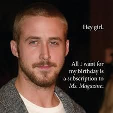 All I want for my birthday is...