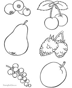 Food Coloring Sheets For Kids