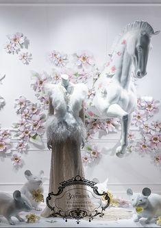 Cinderella windows at TSUM, Moscow, 2015