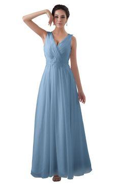 4146ab896ab ColsBM Kalani - Dusty Blue Bridesmaid Dresses