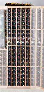 The Designer Series 5 Column wine rack with display holds and displays bottles in individual sections. Wine Cellar Racks, Wine Rack, Display, Bottle, Storage, Design, Floor Space, Purse Storage, Bottle Rack