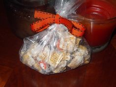 Seasonal Foods and Weeknight Meal Plans: Halloween Chex Mix:Candy Corn Balls & Sweet and Sa...