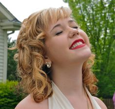 Marilyn for prom.