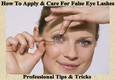 Makeup Application & How to Apply False Eyelashes-The application of fake eyelashes can be a very frightening thing for a good many women.Because of this daunting fear, many women don't ever manage to learn the ins & out of it. But it is their loss, since applying false eyelashes can be most dramatic way of enhancing your makeup.It takes you from day to night makeup with 1 simple easy application.READ MORE…