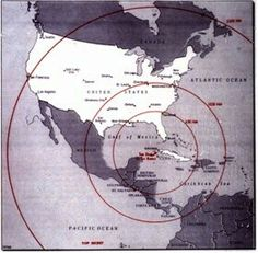 The Cuban Missile Crisis (1962)  Oh! I remember this well. My oldest brother was in the Strategic Air Command and would have gone to fight. We all sat around the TV watching it and wringing our hands that the Cubans would back down.