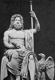 Zeus/Jupiter/Zevs~ king of all gods, king of OLIMP.Zeus was the god of the sky… Greek Gods And Goddesses, Greek And Roman Mythology, Greek History, Ancient History, Zeus Jupiter, Symbole Viking, Roman Gods, Greek Statues, Cheat Meal
