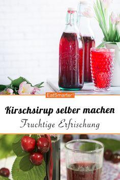 Kirschsirup selber machen - smarter - Zeit: 30 Min. | eatsmarter.de #kirschen #sirup #selbermachen #diy