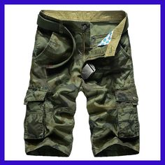 New Cargo Shorts Men Top Design Camouflage Military Army Khaki Shorts Homme Summer Outwear Hip Hop Casual Cargo Camo Men Shorts Camouflage Shorts, Camo Shorts, Cotton Shorts, Men Shorts, Army Camouflage, Mens Cargo Shorts, Men Pants, Khaki Shorts, Work Shorts