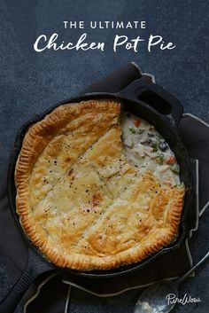 The Ultimate Chicken Pot Pie (Plus 19 More Impressive-Looking Puff Pastry Dinner… The Ultimate Chicken Pot Pie (Plus 19 More Impressive-Looking Puff Pastry Dinners That Are Secretly Really Easy) Puff Pastry Recipes, Puff Pastries, Fall Dinner, Southern Recipes, Southern Food, Southern Style, Rotisserie Chicken, Freezer Meals, Cooking Recipes