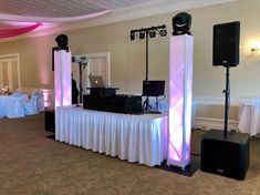 Set up and ready to go for Luke and Alex's big day! Providing DJ, uplighting, and projected monogram services today! Wedding Dj, Wedding Ideas, Ready To Go, Big Day, Monogram, Projects, Instagram, Monogram Tote, Log Projects