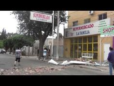El viento voló el techo de un supermercado en la capital puntana