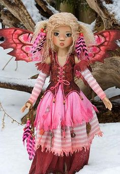 dolls by Martha Boers   Introducing Miki - photos 2011 - Antique Lilac