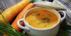 Carottes, pommes et gingembre...Une soupe tellement savoureuse - Recettes - Ma Fourchette