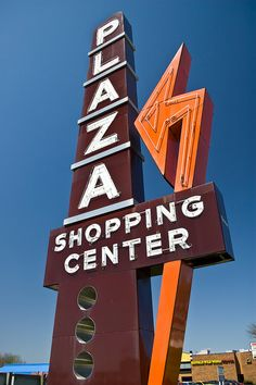 I miss the old shopping plazas. Tons more character than a mega mall ever could be!